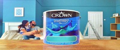 Краски «Crown» для внутренних работ