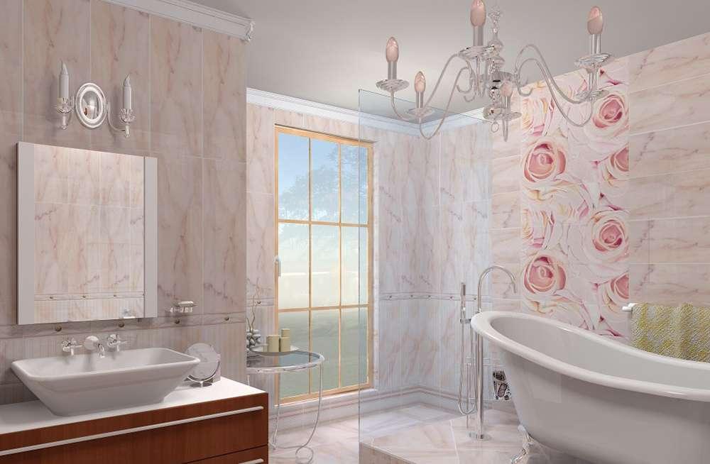 Чем отделать стены в ванной фото 2