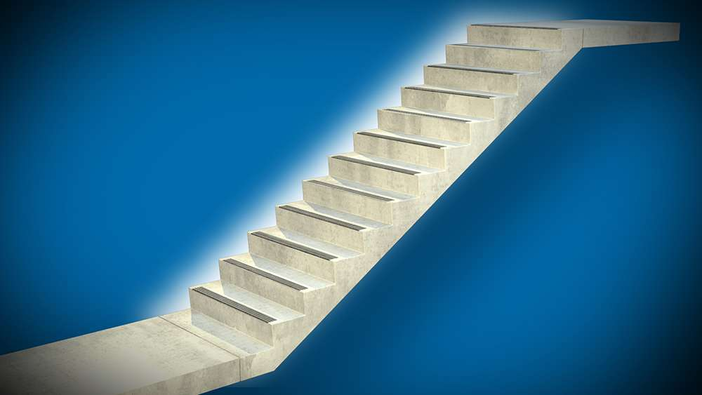 маршевая лестница фото 2