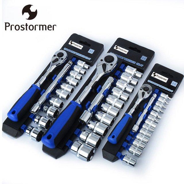 Набор ключей с головкамиProstormer (1/4', 3/8', 1/2')