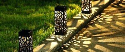 5 красивых садовых светильников из AliExpress