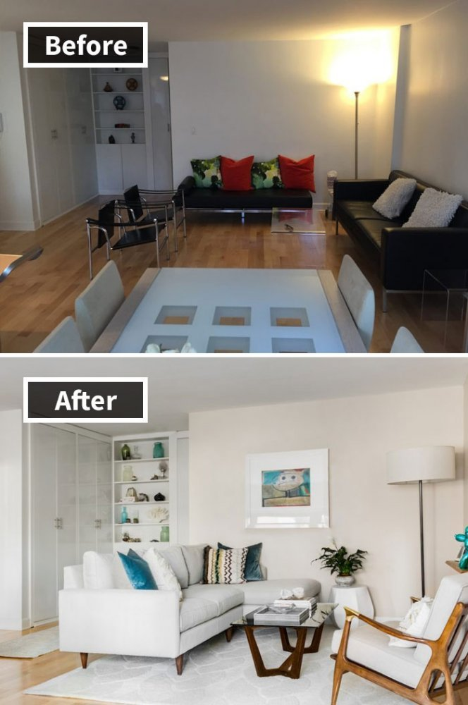 Ремонт до и после фото 24