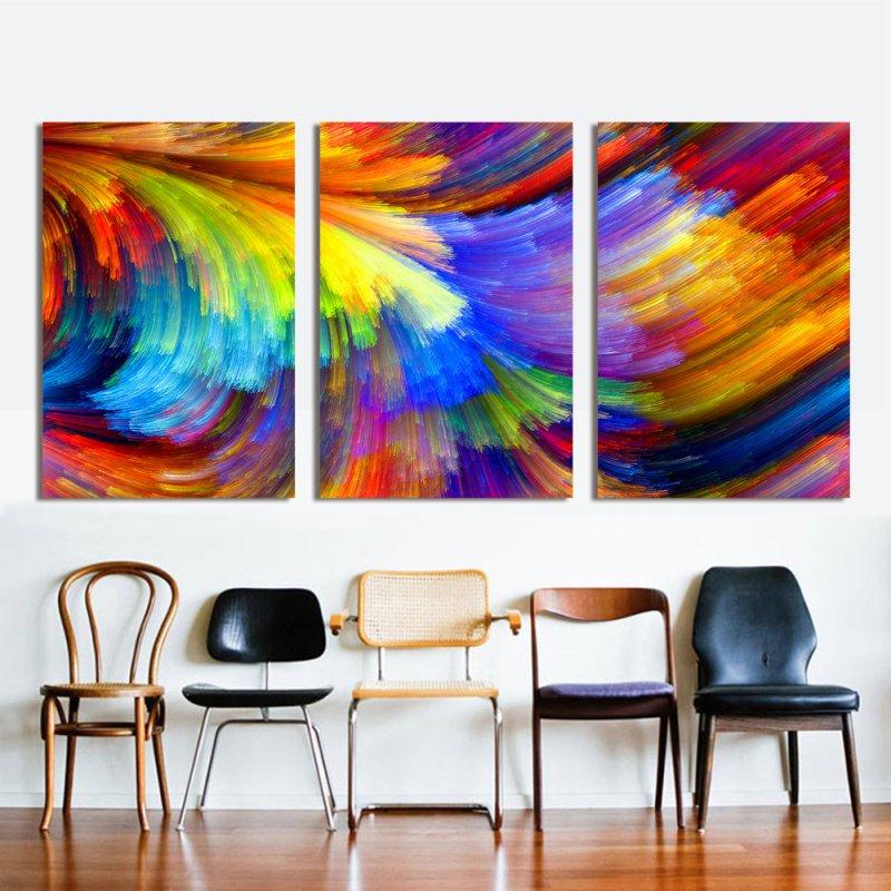 Картины Триптих для интерьера дома на AliExpress