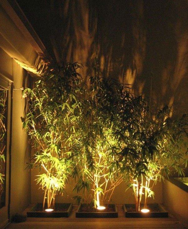 Декоративное освещение на даче фото 1