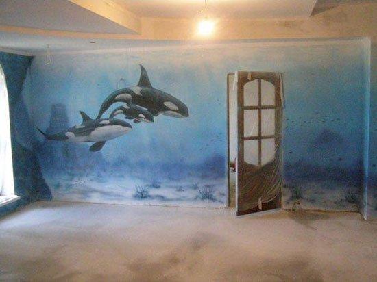 художественная роспись стен  фото 2