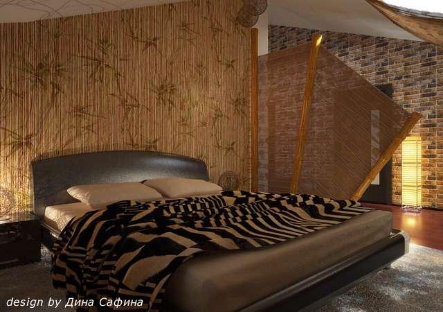 Придерживайтесь одного стиля мансардной комнаты