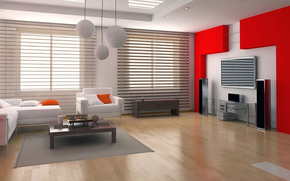 Современная гостиная в стиле минимализм фото 2
