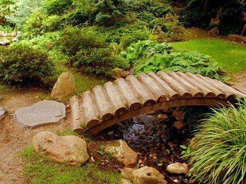 Декоративные мостики своими руками фото 4