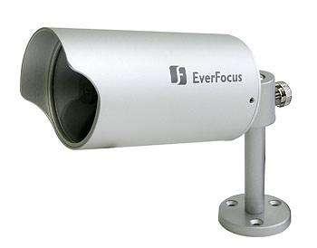 Стационарная цилиндрическая видеокамера со встроенным объективом EverFocus EZ-120