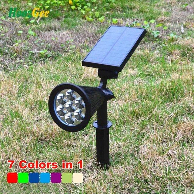 Садовые светильники на солнечных батареяхHoozGee