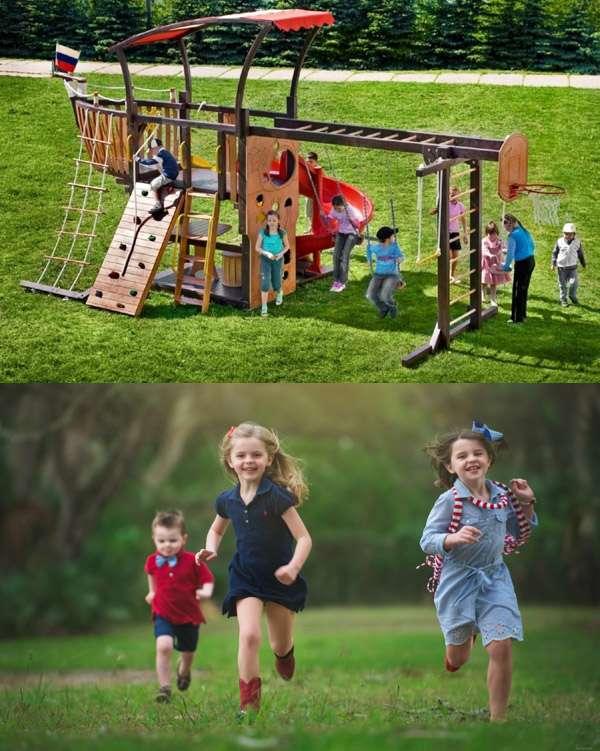 Обеспечьте безопасность детей на детской площадке