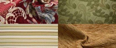 Виды обивочных материалов для мебели