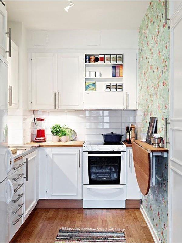 ТОП-10 идей для маленькой кухни фото 1
