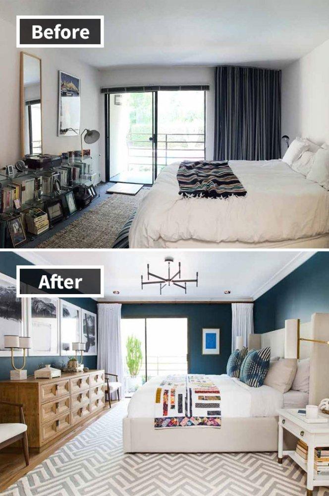 Ремонт до и после фото 37