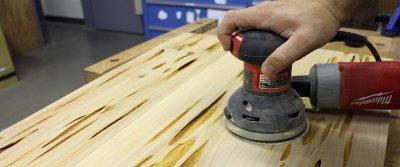 Лакирование и полирование древесины