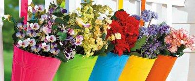Цветы на балконе. Оформление балконов цветами