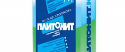 Шпаклевка фасадная ПЛИТОНИТ-Кф. Характеристики и применение.