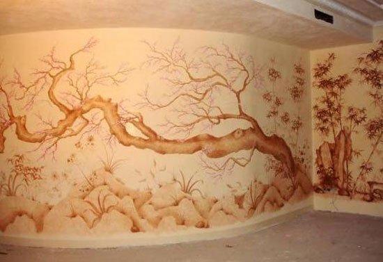 художественная роспись стен  фото 3