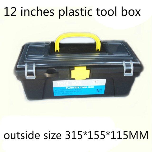 Пластиковый компактный ящик для строителейToolbox