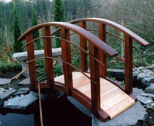Декоративные мостики своими руками фото 11