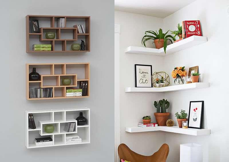 стену для полок на сувениров фото