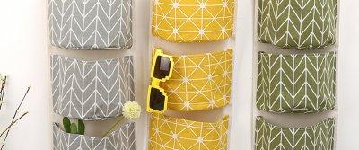 5 подвесных полочек и карманов для хранения вещей от AliExpress
