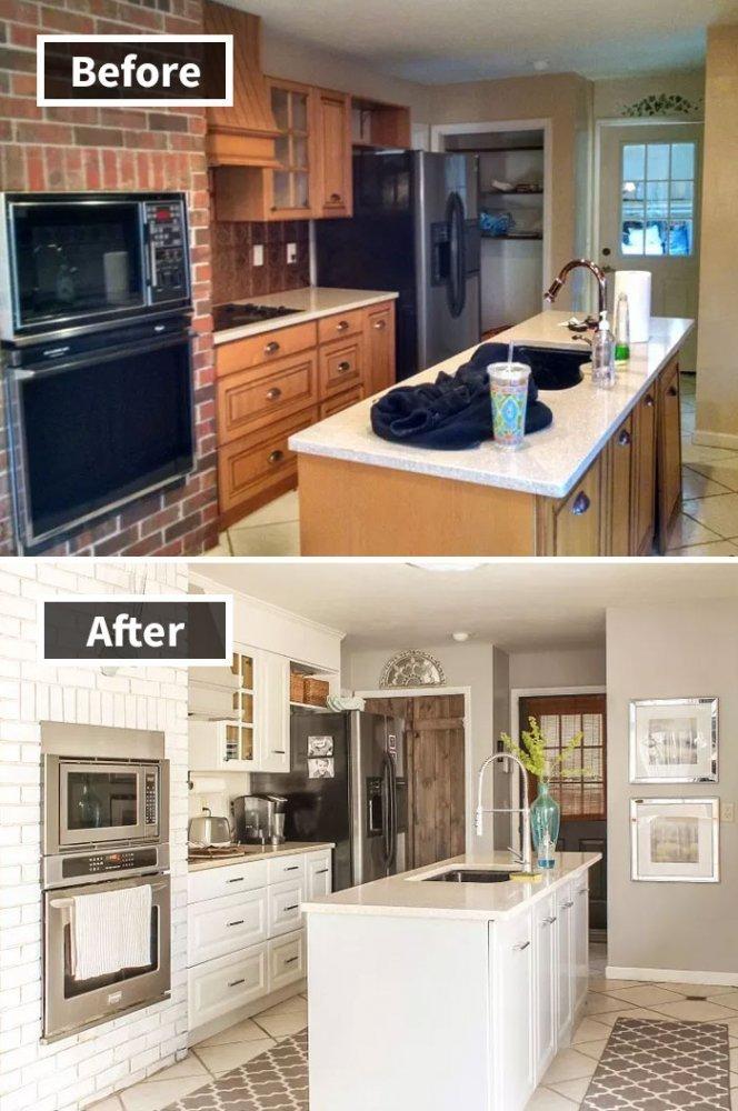 Ремонт до и после фото 31