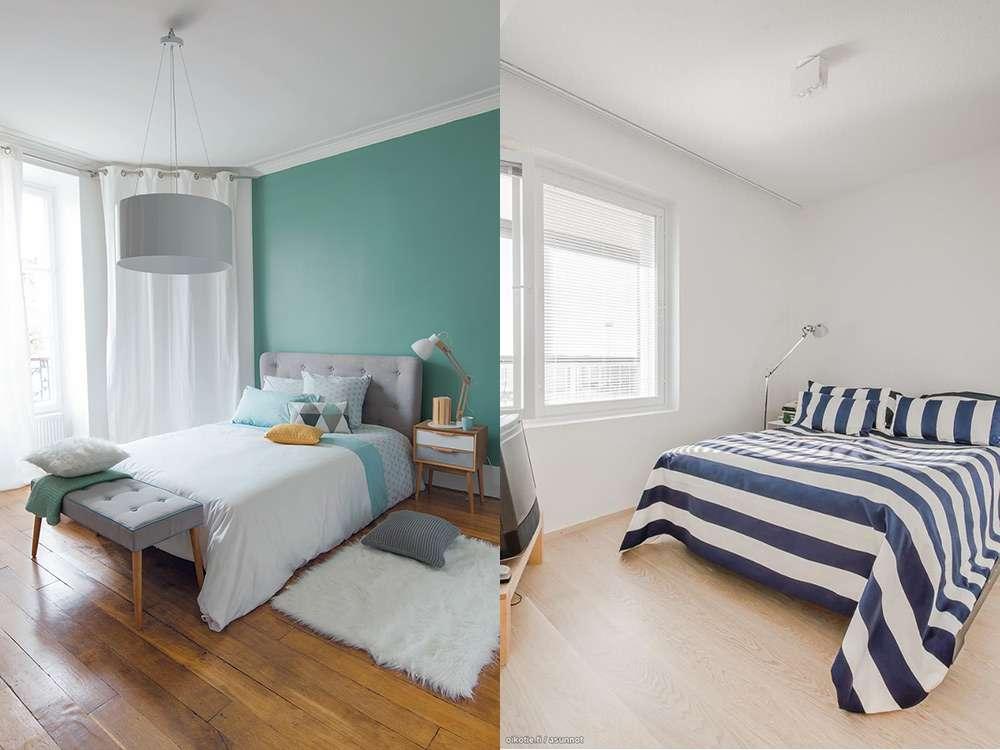 Минимализм в интерьере спальни для небольших комнат