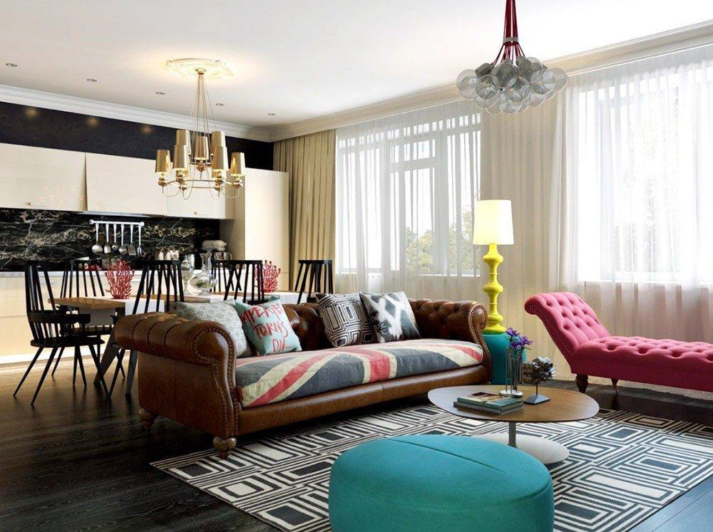 Мягкая мебель для гостиной: 10 идей интерьера фото 01-03