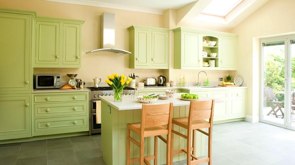 Лучшие сочетания цветов для кухни