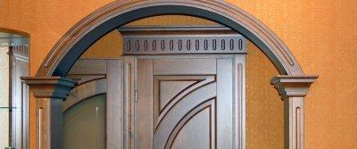 Арочное перекрытие дверного проема