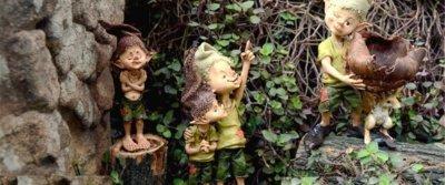 5 сказочных садовых фигурок с AliExpress