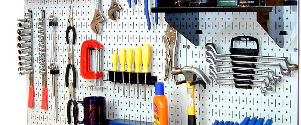 Системы удобного и правильного хранения инструментов