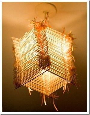 люстра из бамбука своими руками