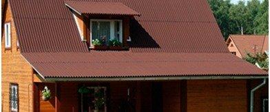 Как покрыть крышу металлочерепицей, профнастилом, ондулином, шифером