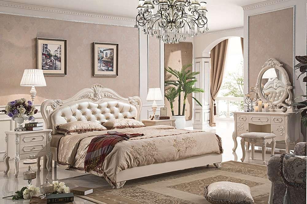 Французский стиль интерьера спальни - роскошь и комфорт