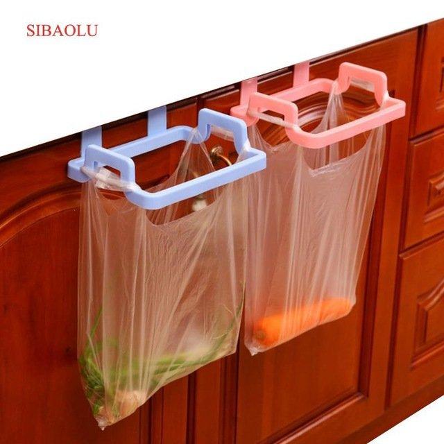 Удобные держатели пакетов для хранения овощей или мусораSIBAOLU