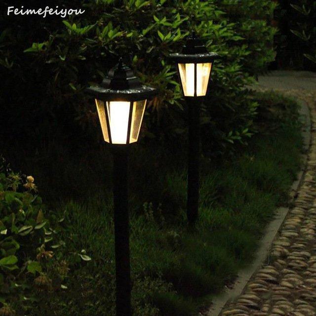 Светильники для сада с солнечными батареямиFeimefeiyou