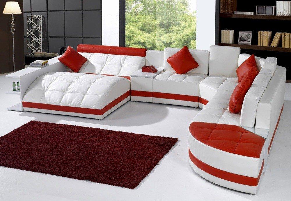 Мягкая мебель для гостиной: 10 идей интерьера фото 02-01