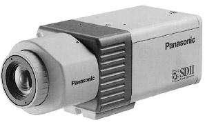 Стационарная видеокамера стандартного дизайна без встроенного объектива Panasonic WV-CP470