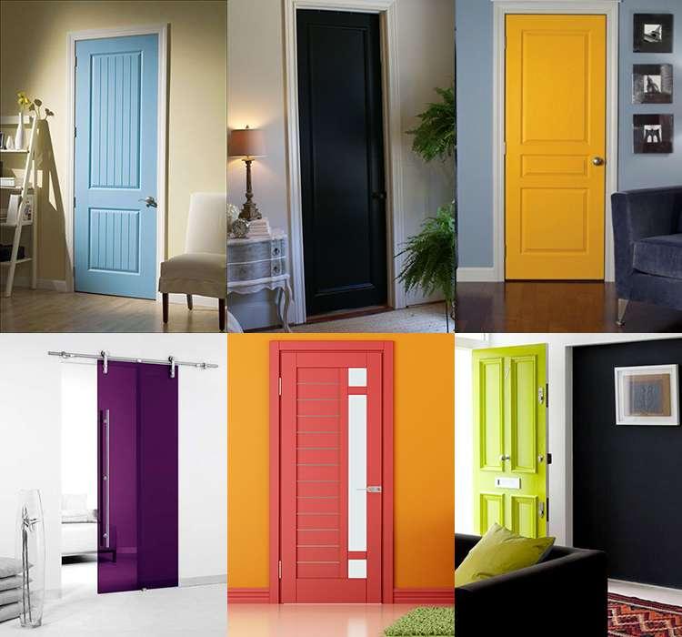 Цвет межкомнатных дверей фото 3