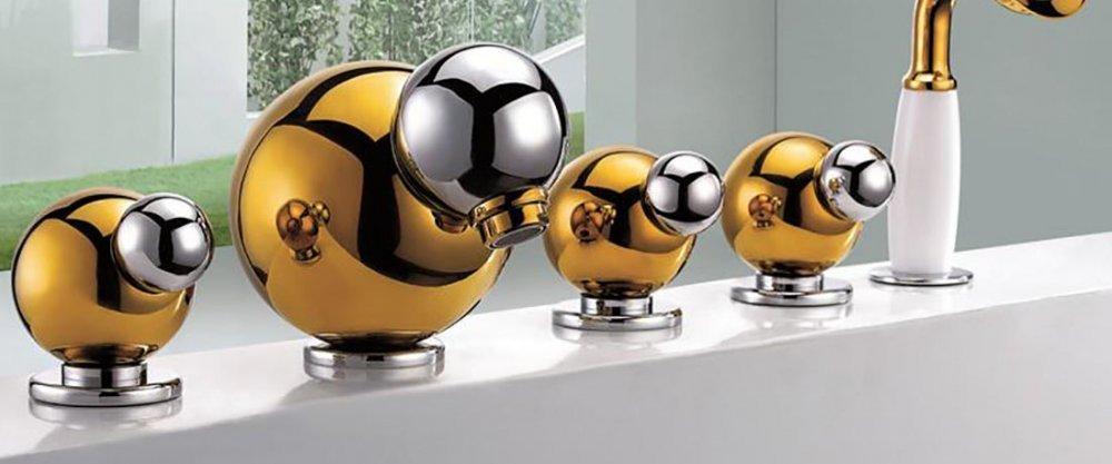 5 дизайнерских смесителей для ванной с AliExpress