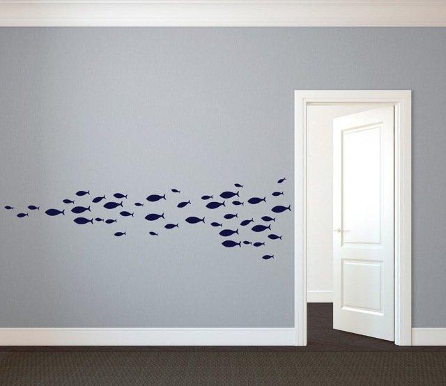 Стая рыб для интересного интерьера Coolife (4 вида, 60 шт.)