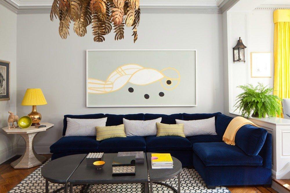 Мягкая мебель для гостиной: 10 идей интерьера фото 05-03