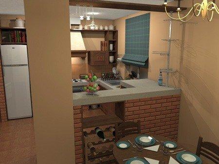 идея дизайна кухни