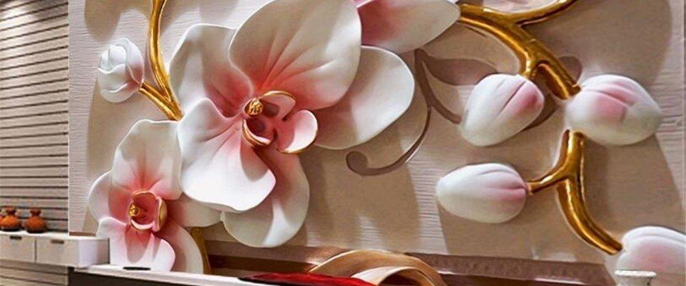 ТОП-5 роскошнейших обоев с 3D шелкографией от AliExpress