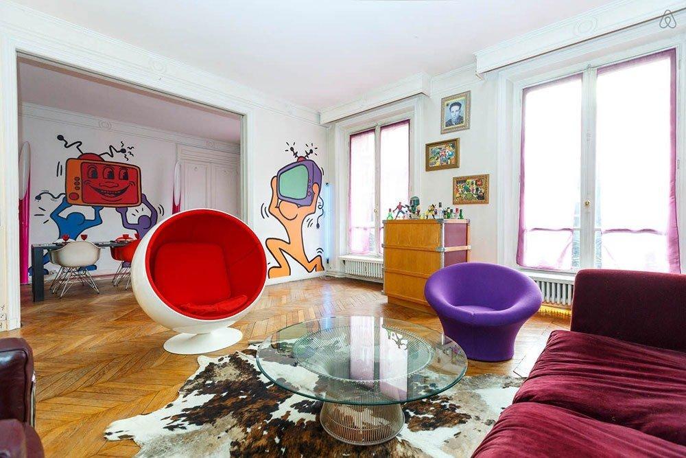 Эклектика в современной гостиной фото 2