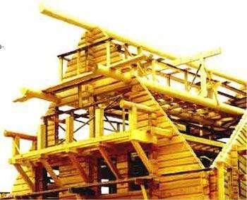 Применение древесины в строительстве: бревенчатый сруб