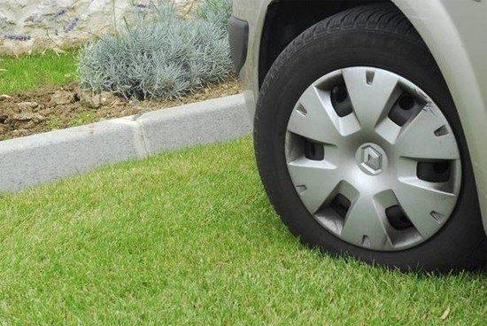 Стоянка для машины, парковка для машины