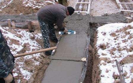 Бетон противоморозный барнаульский бетон